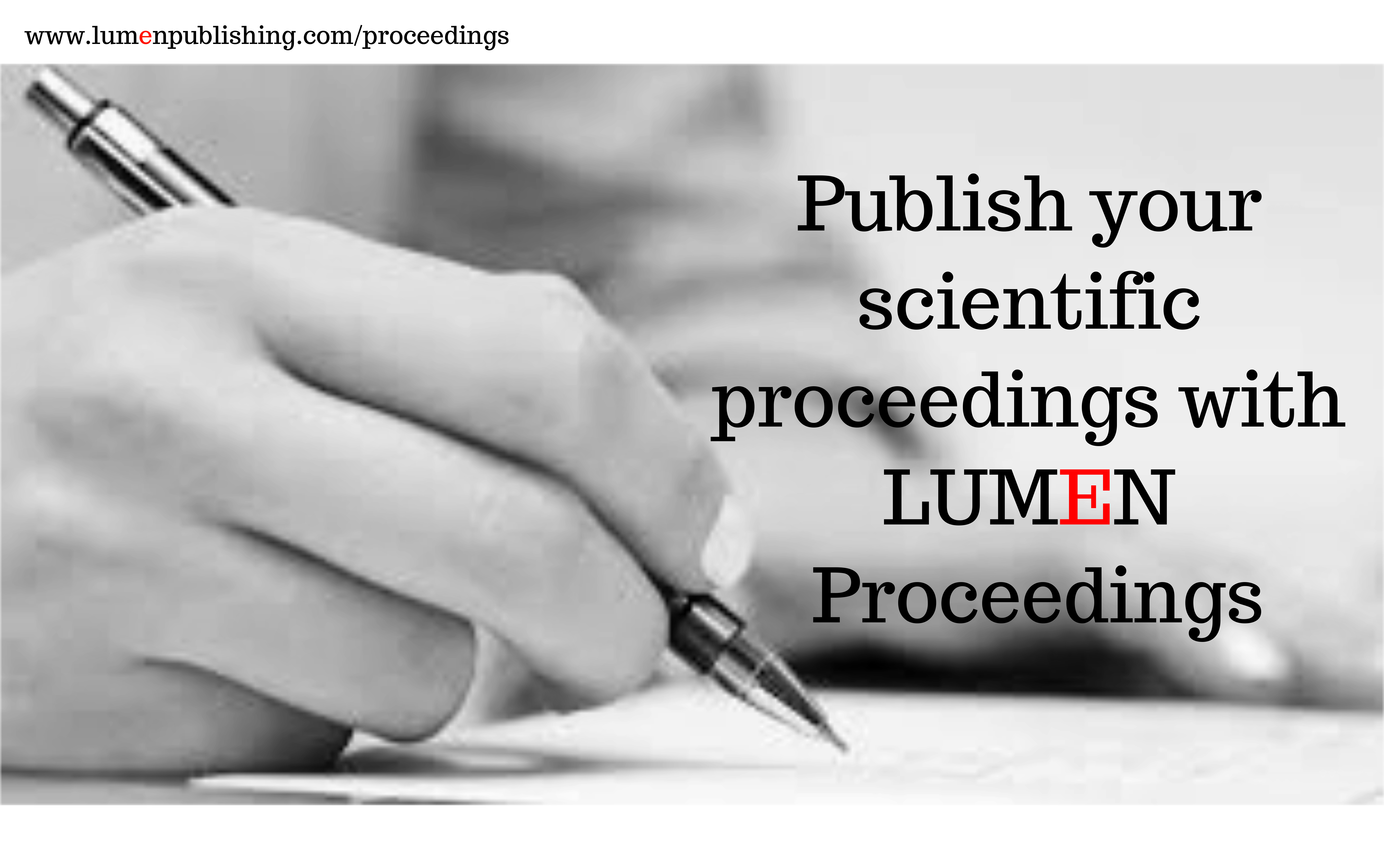 Propose a proceedings |