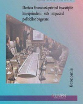 Publish your work with LUMEN DIACONU Deciziile financiare