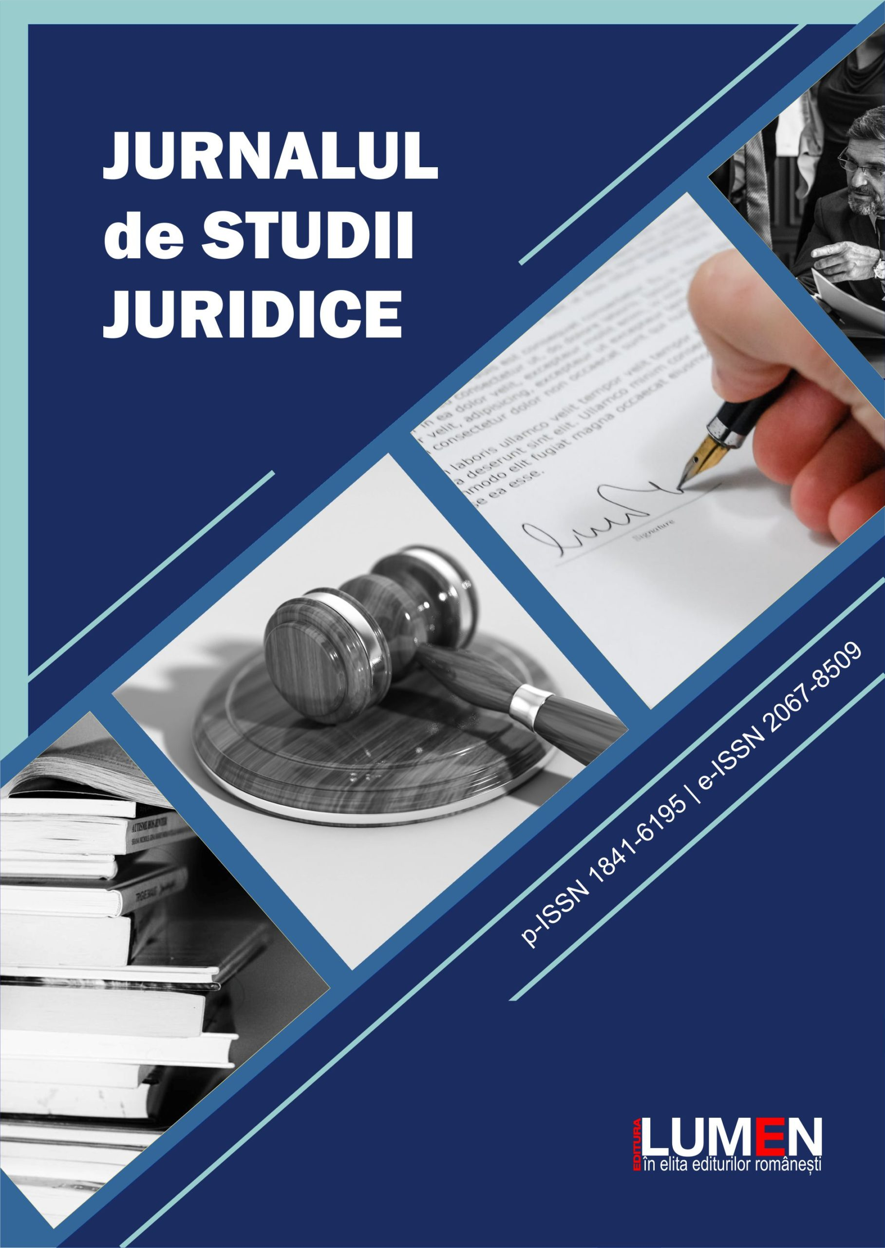 Publish your work with LUMEN COVER Jurnalul de Studii Juridice scaled