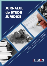 Publish your work with LUMEN COVER Jurnalul de Studii Juridice small