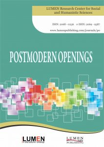 Publica cartea ta la Editura Stiintifica Lumen Cover Postmodern Openings JOURNAL