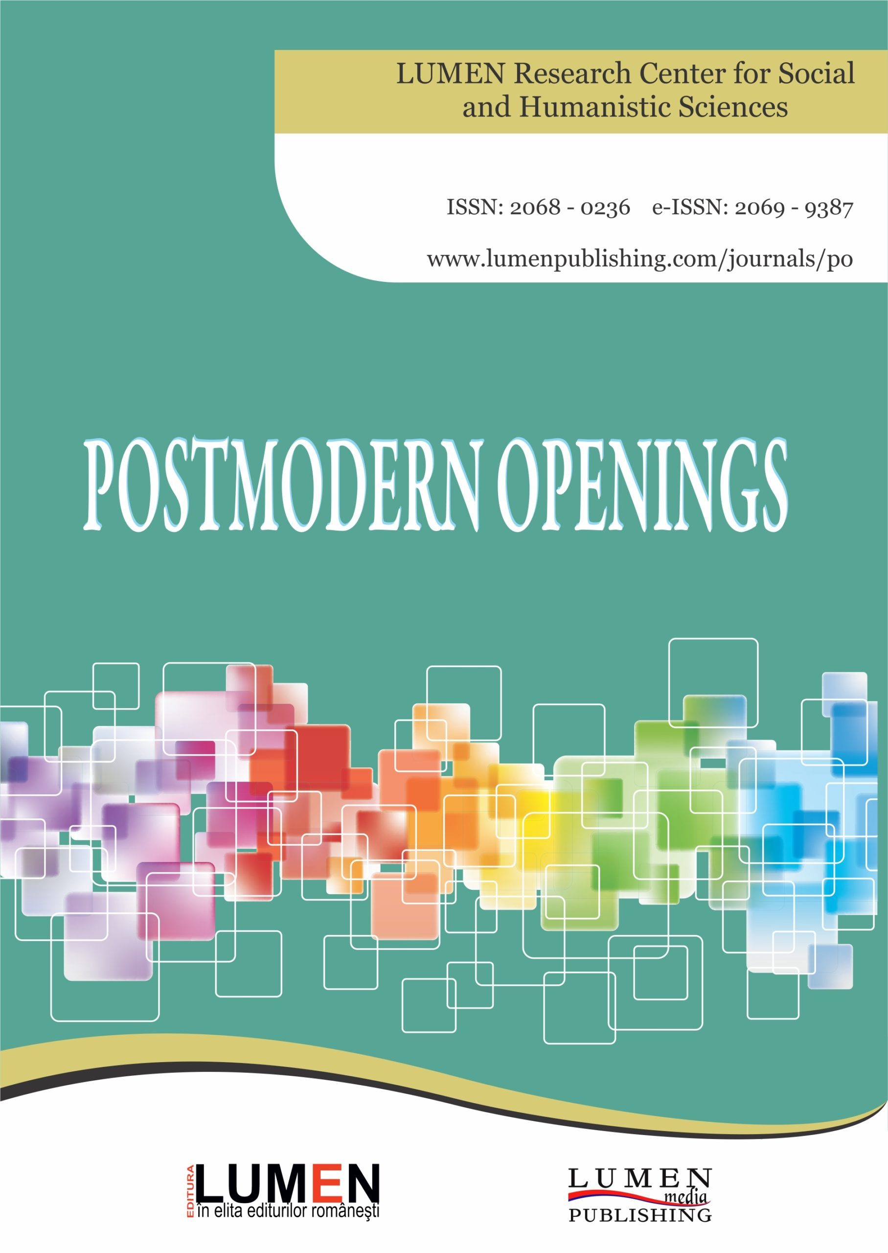 Publish your work with LUMEN Cover Postmodern Openings JOURNAL scaled