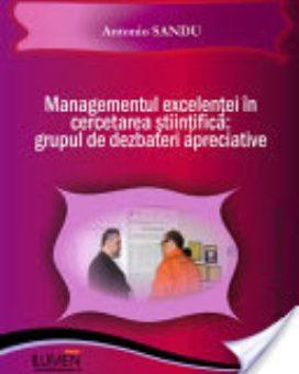 Publish your work with LUMEN SANDU Managementul cercetarii