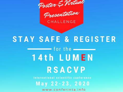 Publish your work with LUMEN Poster Presentation RSACVP2020 1