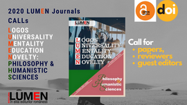Publish your work with LUMEN call for papers phs 275