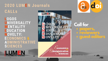 Publish your work with LUMEN call for papers EAS 360