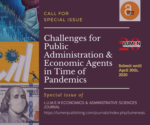 Publish your work with LUMEN eas special issue 630