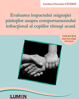 Publish your work with LUMEN Evaluarea impactului migratiei CATARAU Coperta 270x340 1